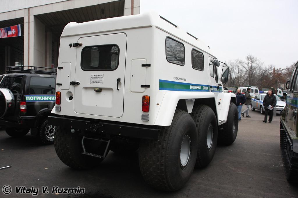 Вездеход Трэкол-39294 (All-terrain vehicle Trekol-39294)
