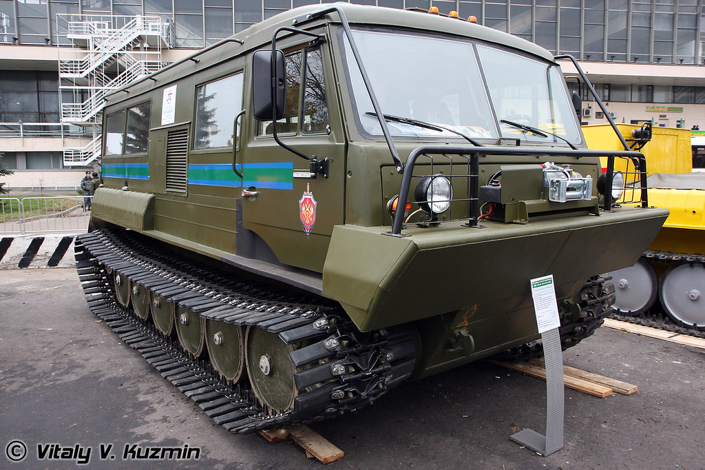 Снегоболотоход ТТМ-3902 ПС-01 (All-terrain vehicle TTM-3902 PS-01)