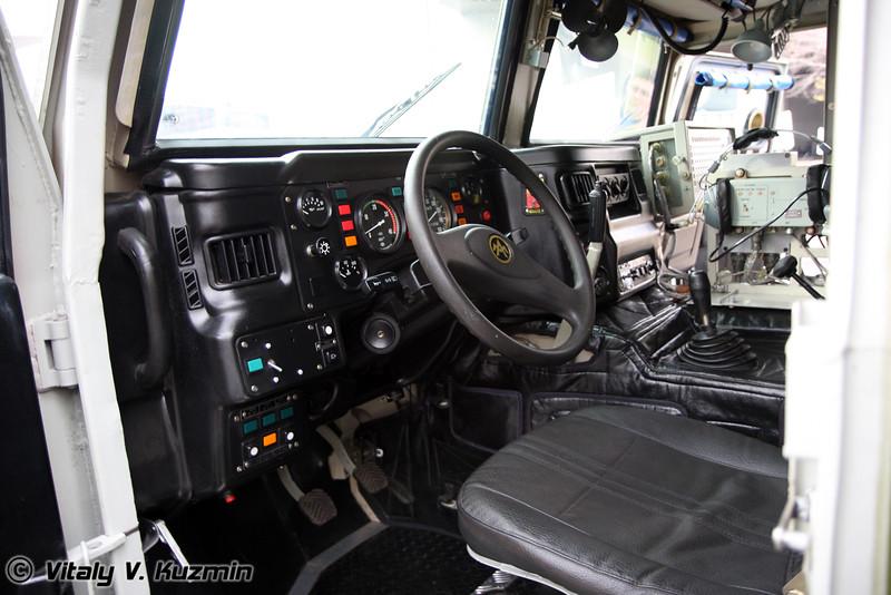 КШМ Р-145 БМА (Mobile command vehicle R-145 BMA based on GAZ Tigr)
