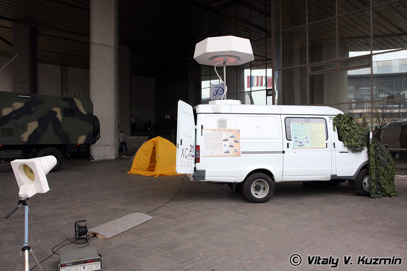 Станция радиотехнического мониторинга Радиан-02 (Mobile radio monitoring station Radian-02)