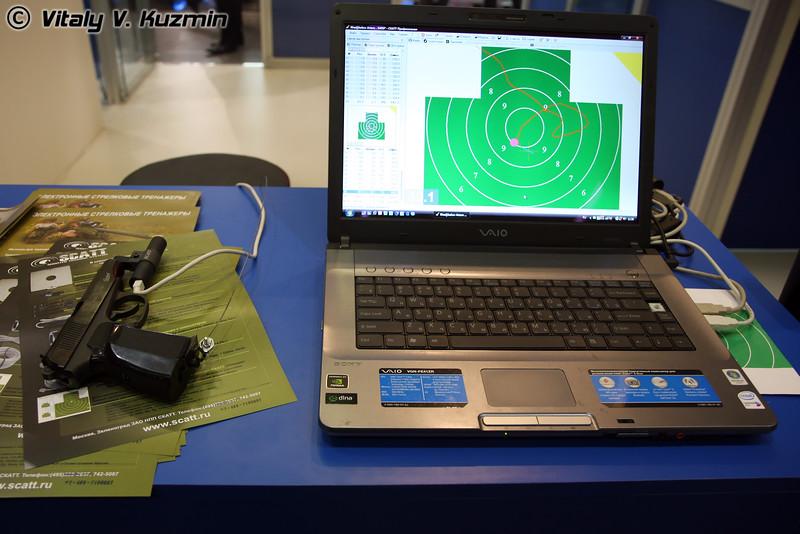 SCATT USB электронный стрелковый тренажер (shooter training system)