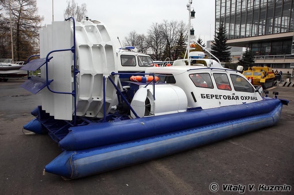 Амфибийный катер на воздушной подушке МАРС-700 (Hovercraft Mars-700)