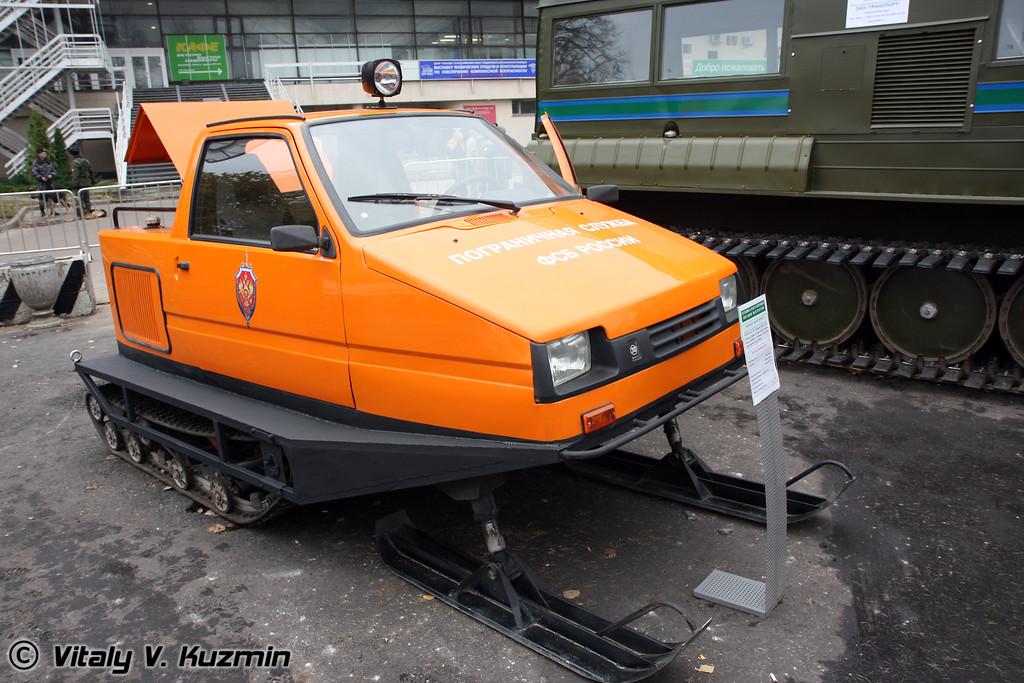 Снегоход 1901 ПС Беркут (Snowmobile 1901 PS Berkut)