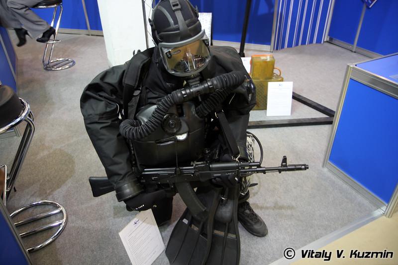 Специальное водолазное снаряжение СВС (Special diving equipment SVS)