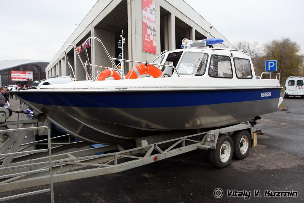 Патрульный катер Альянс-09 (Patrol boat Alyans-09)