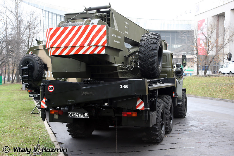 Кран военного назначения КС-3574М1 (Crane KS-3574M1)