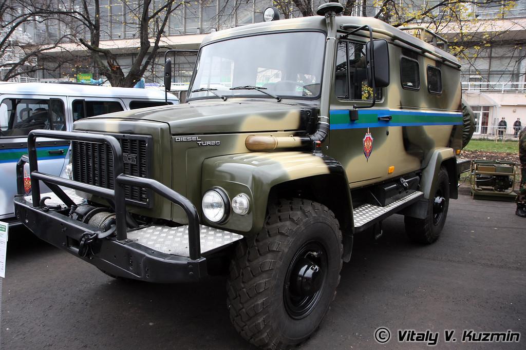А/м повышенной проходимости Вепрь (All-terrain vehicle Vepr)