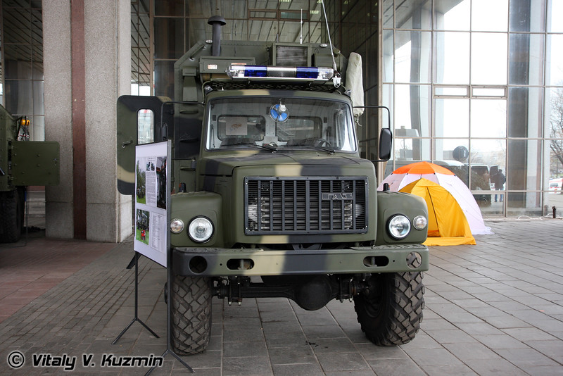 Передвижной пункт управления Гранит-ППУ (Mobile command center Granit-PPU)