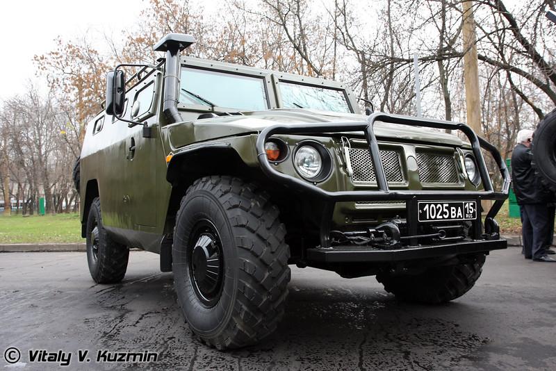 Бронеавтомобиль ГАЗ-233036 Тигр СПМ-2 (GAZ-233036 Tigr SPM-2 armored vehicle)