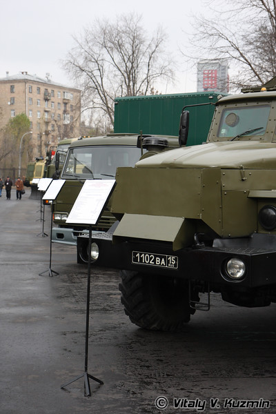 Бронеавтомобиль Урал-4320 Звезда-В (Armored Ural-4320 Zvezda-V)