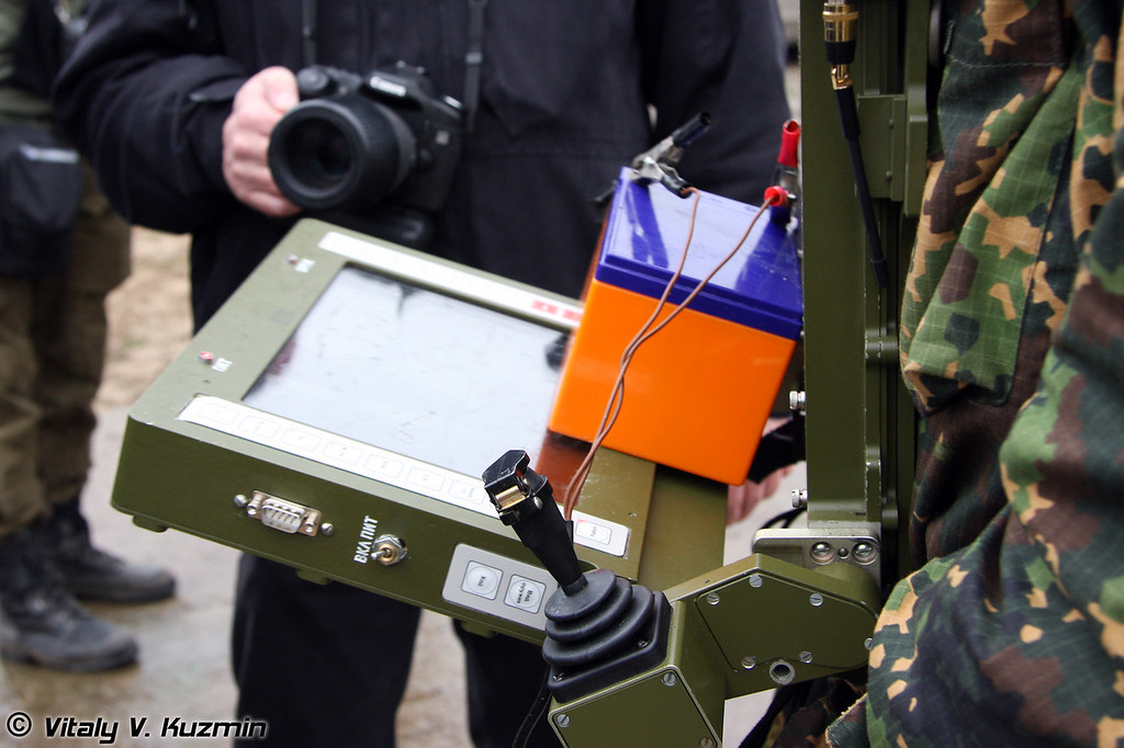 Пульт управления МРК Металлист (MRK Metallist control device)