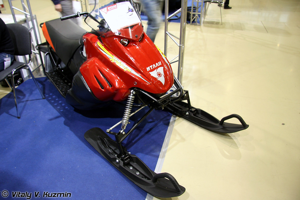 Снегоход Итлан (Itlan snowmobile)