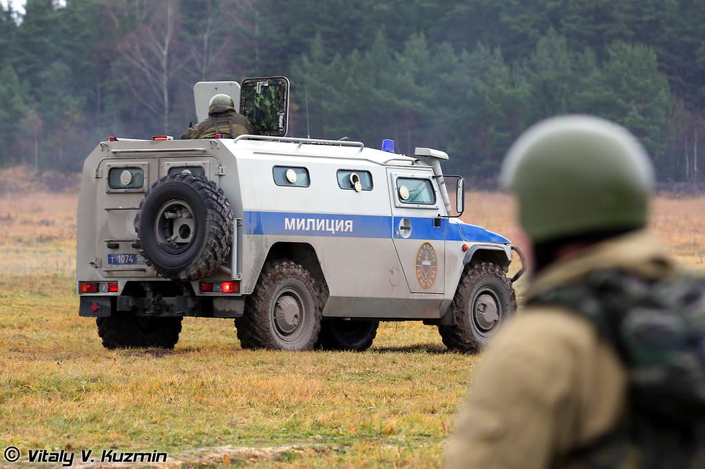 ГАЗ-233036 СПМ-2 на базе ГАЗ Тигр с различным вооружением (GAZ-233036 SPM-2 Tigr base with different weapons)