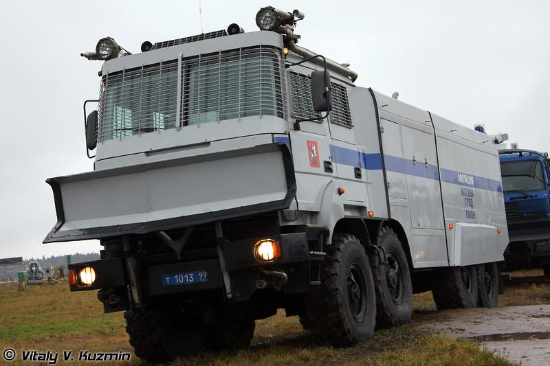 Лавина-Ураган на базе Урал-532362 (Anti-riot vehicle Lavina-Uragan on Ural-532362 chassis)