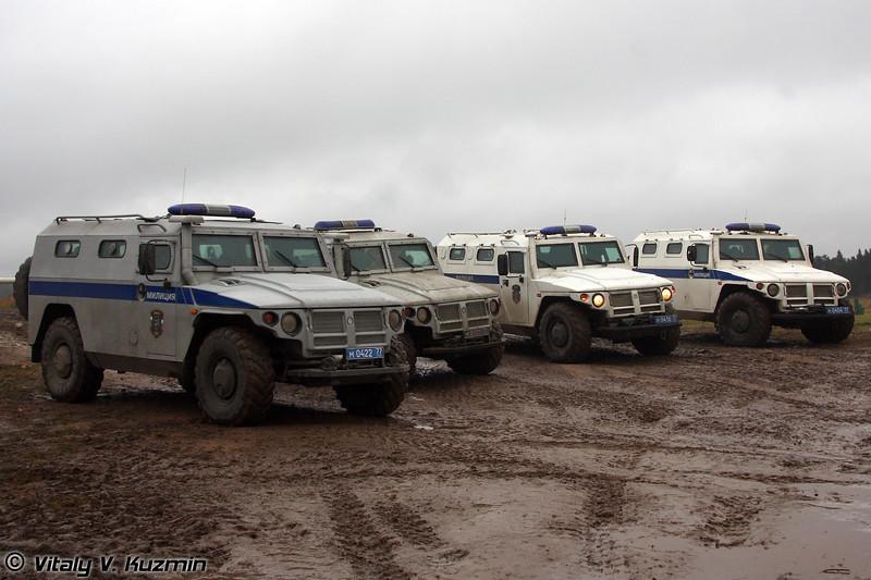 СПМ-1 и СПМ-2 (Special police vehicles SPM-1 and SPM-2)