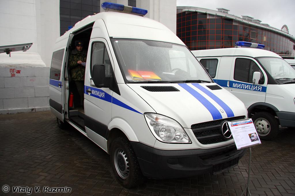 Спецавтомобиль оперативно-технической поддержки Обвалование (Operational support vehicle Obvalovanie)