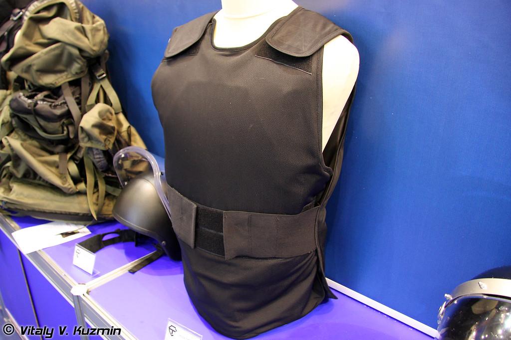 Бронежилет 2 класса защиты Кора-1МК-СН (2 class protection Kora-1MK-SN bulletproof vest)