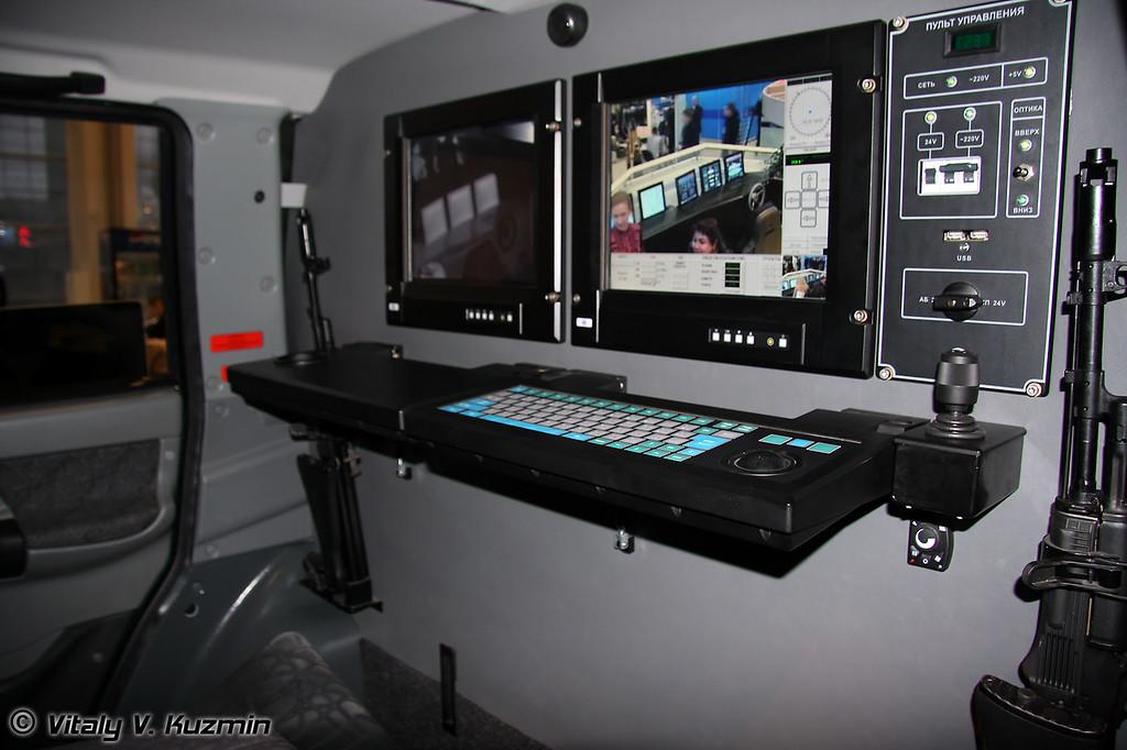 Мобильный патрульный комплекс Патриот-Ортикон (Mobile patrol complex Patriot-Optikon)