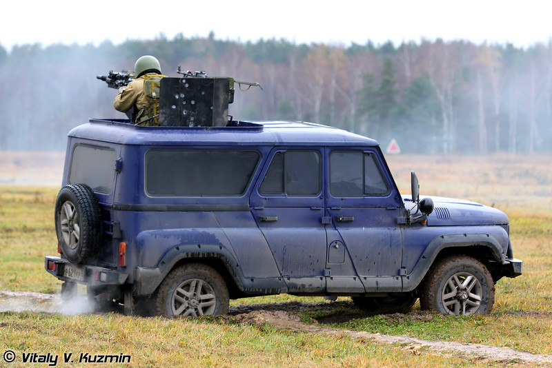 УАЗ-3132 Гусар с АГС-30 (UAZ-3132 Gusar with AGS-30)