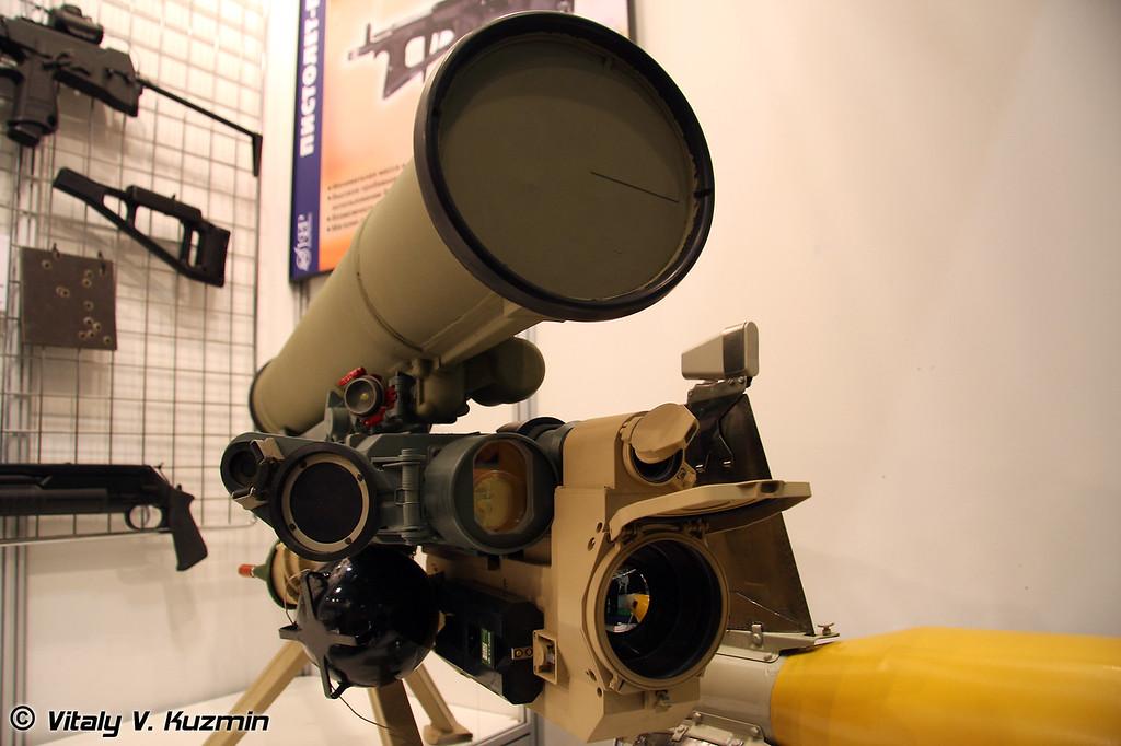 ПТРК Метис-М1 (Metis-M1 antitank system)