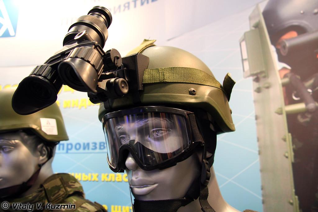 Защитный шлем ЗШ-09 (ZSh-09 helmet)