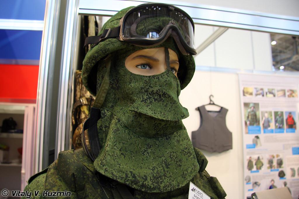 Боевой защитный комплект Пермячка (Combat defence kit Permyachka)