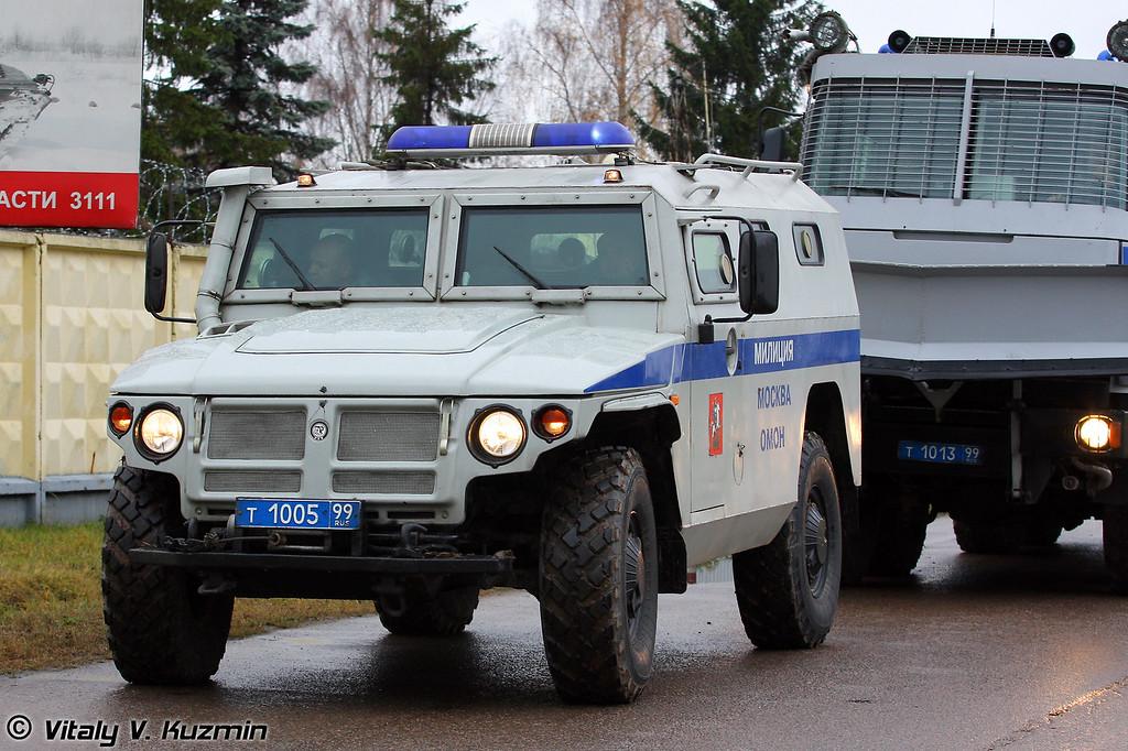 ГАЗ-233036 Тигр СПМ-2 Альфа-ВВ (GAZ-233036 Tigr SPM-2 Alfa-VV)