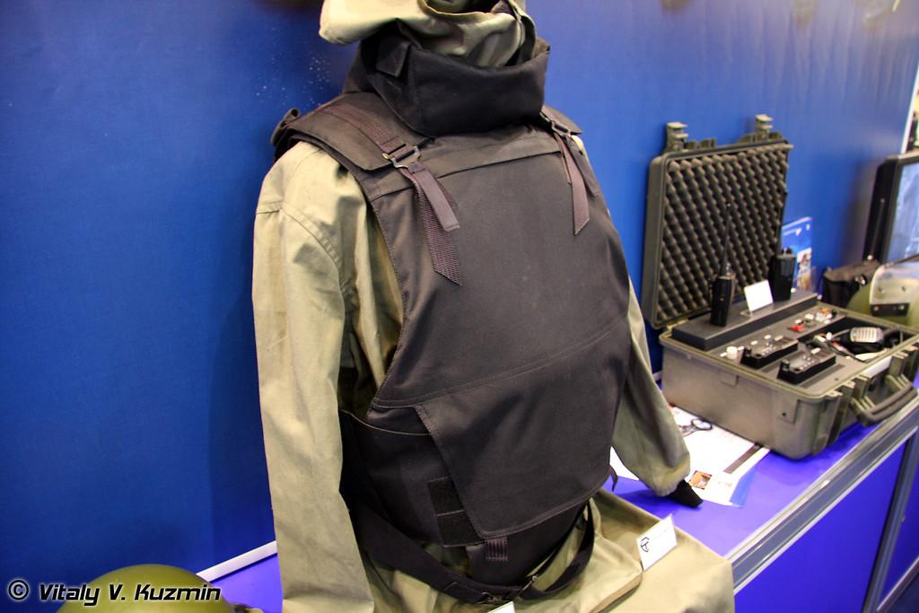 Бронежилет 6 класса защиты Корунд-ВМ-К (6 class protection Korund-VM-K bulletproof vest)