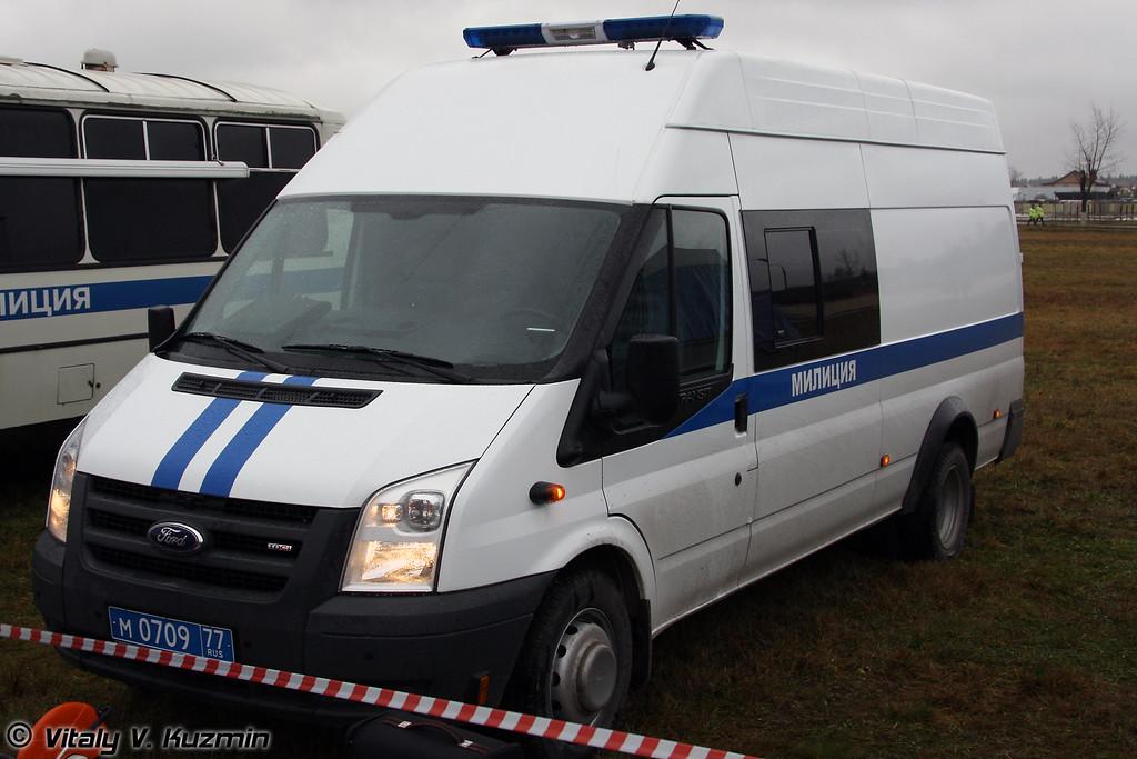 Форд-Транзит для инженерно-саперной группы (Sapper group Ford Transit)