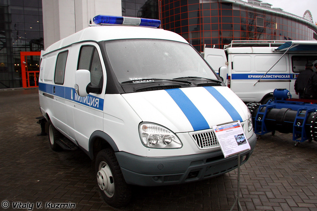 КШМ (Command vehicle)
