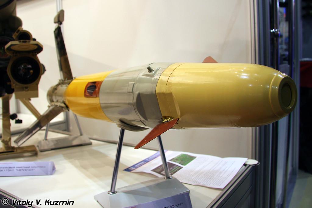 ПТУР 9К115М1 к ПТРК Метис-М1 (ATGM 9K115M1 for Metis-M1 antitank system)