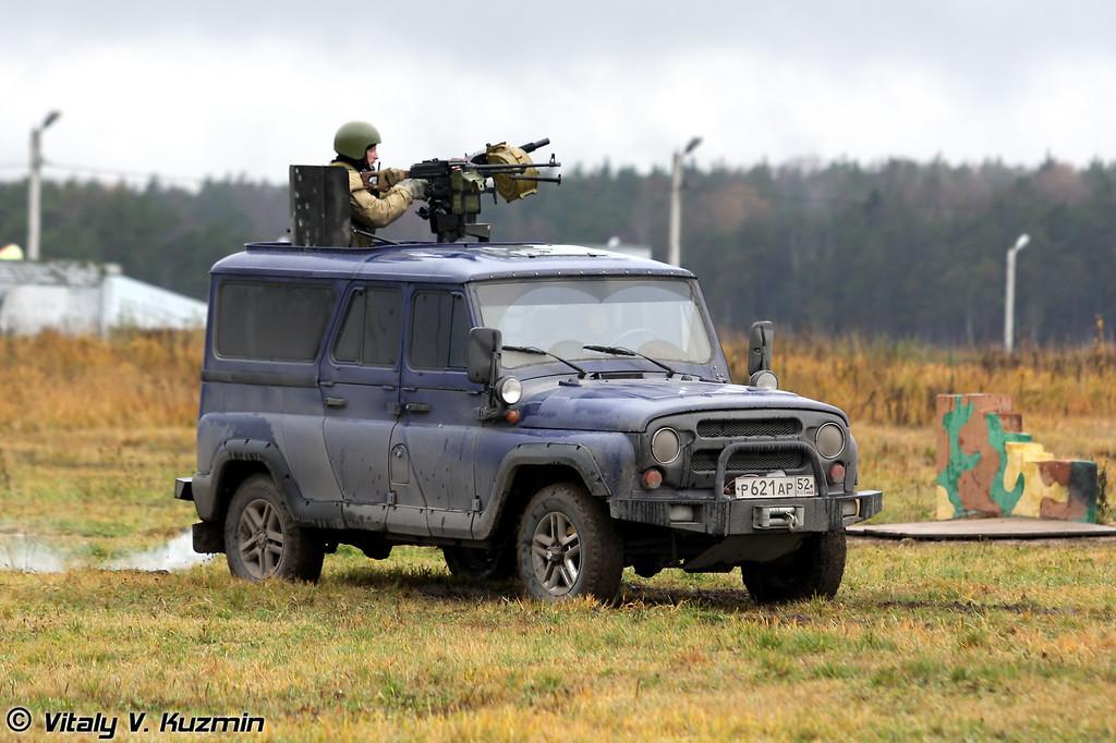 УАЗ-3153 Гусар с АГС-30 (UAZ-3153 Gusar with AGS-30)