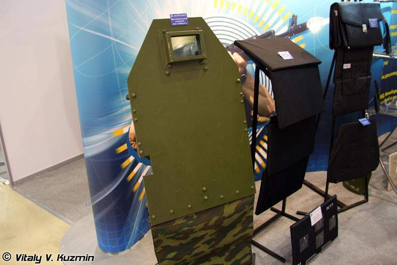 Противопульный стальной щит Забор-С (Shield Zabor-S)