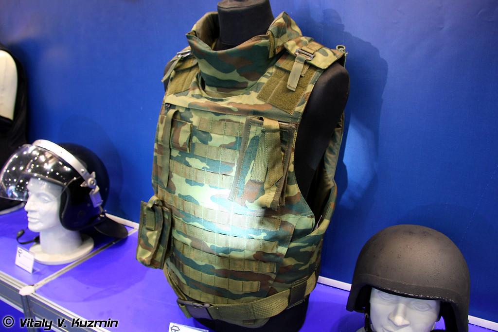 Универсальный бронежилет 5 класса защиты Багарий (5 class protection Bagariy bulletproof vest)