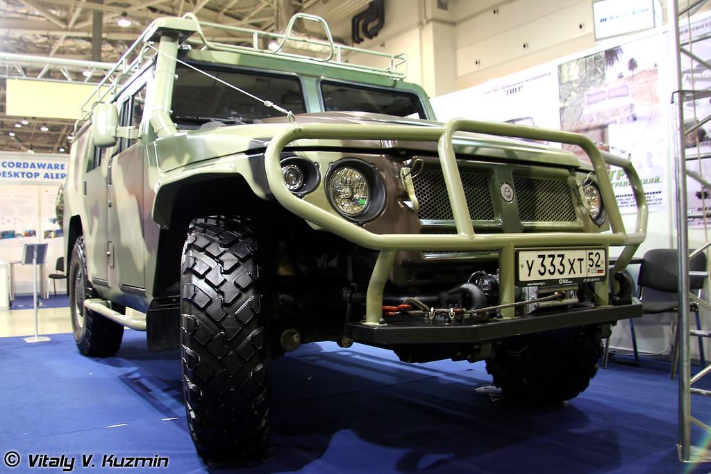Гражданский ГАЗ-233001 Тигр (Civilian GAZ-233001 Tigr)