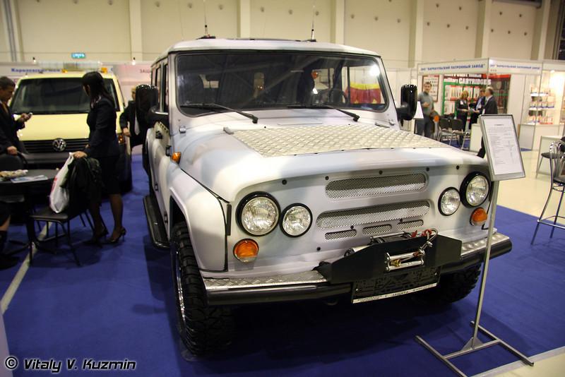 """Специальный легковой автомобиль Скорпион-2 от Корпорации """"Защита"""" (Scorpion-2)"""