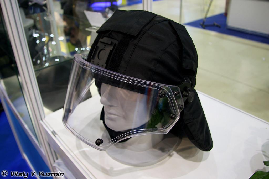 Шлем ЛШЗ-2ДТМ Вулкан (LShZ-2DTM Vulkan helmet)