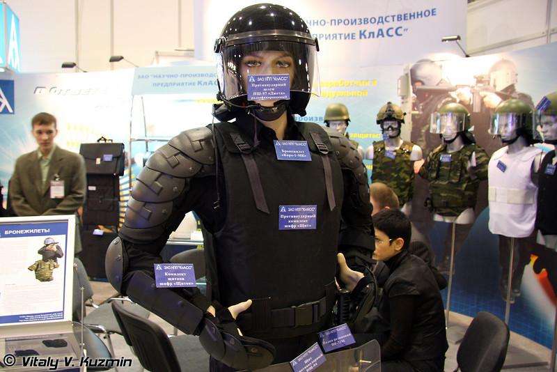Противоударный комплекс шифр Щит (Shockproof protective kit Schit)