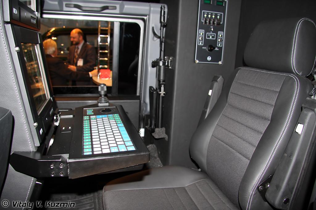 Мобильный комплекс контроля за наземной обстановкой Ровер-ОКАПИ (Mobile ground situation control complex Rover-OKAPI)