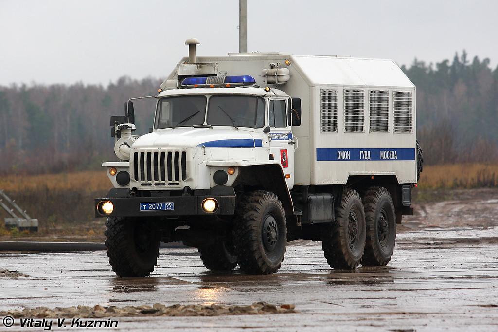 ВМ-4320 на шасси Урал-43203-1 (VM-4320)