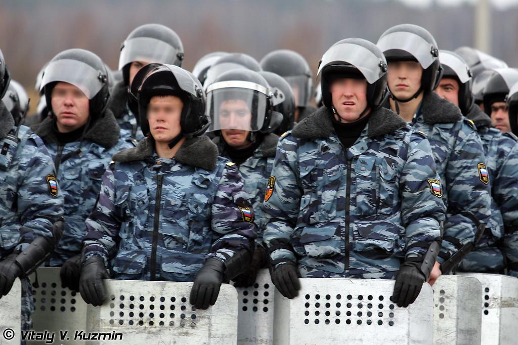 ОМОН ГУВД по г. Москве (Moscow OMON)