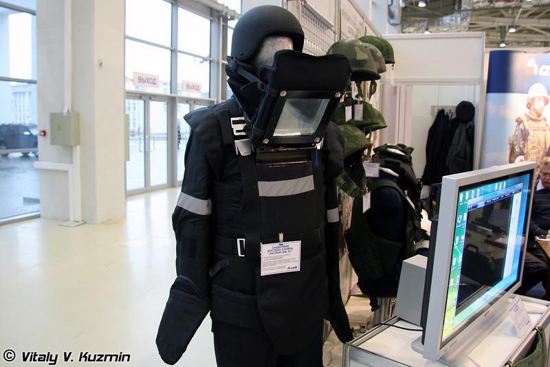 Защитный костюм сапера Заслон-ПМ-1С (Protective sapper suit Zaslon-PM-1S)