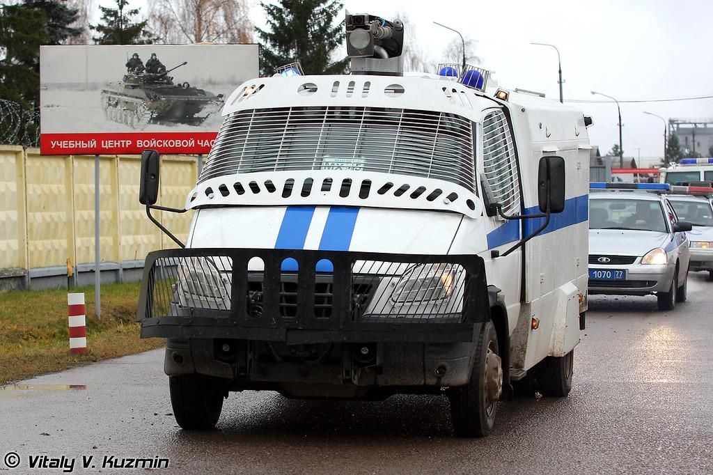 Водометный спецавтомобиль Гроза (Anti-riot vehicle Groza)