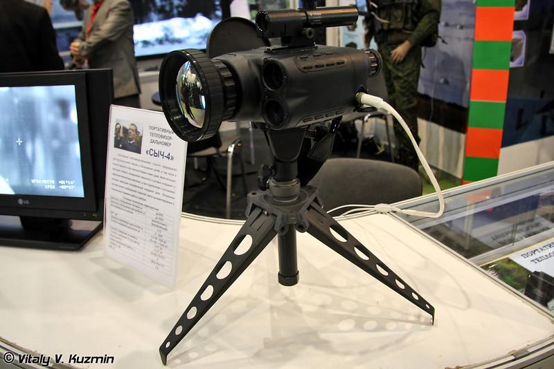 Портативный тепловизор-дальномер Сыч-4 (Portable thermal imager-range finder Sich-4)