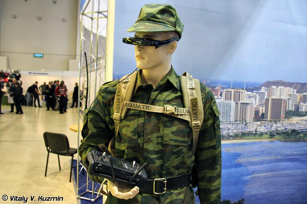 Носимый комплект управления мини-ДПЛА (Portable control kit for mini-UAV)