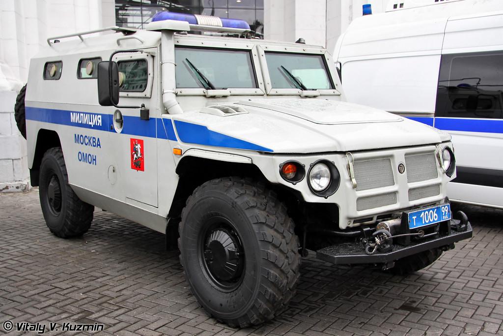 Специальная полицейская машина СПМ-2 Альфа-ВВ на базе ГАЗ-233036 (Special police vehicle GAZ-233036 SPM-2 Alfa-VV)