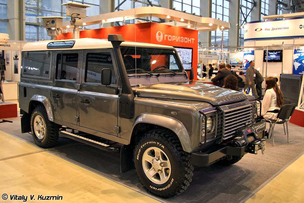 Мобильный патрульный комплекс Патриот-Окапи на базе шасси Land Rover (Mobile patrol complex Patriot-Okapi on Land Rover base)