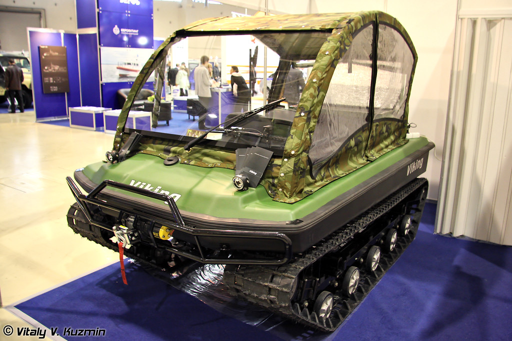 Снегоболотоход Viking (Viking all-terrain vehicle)