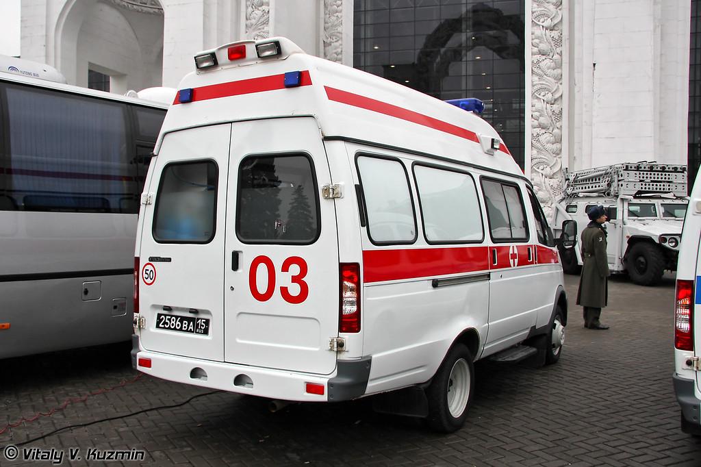 Реанимационный автомобиль ГАЗ-32214 (GAZ-32214 medic vehicle)