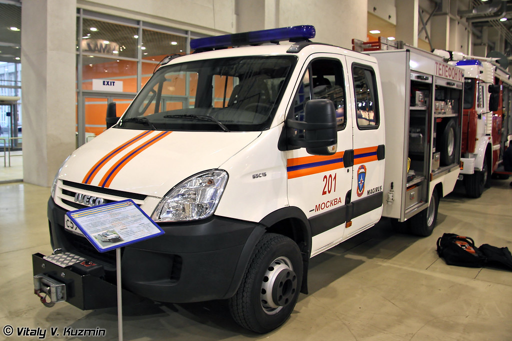 Аварийно-спасательный автомобиль АСА на базе IVECO Magirus Daily (Emergency vehicle ASA on IVECO Magirus Daily base)